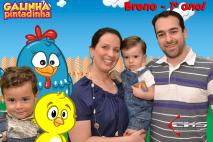 Evento Aniversário Infantil - Estúdio Chroma key - Galinha Pintadinha.