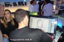 Evento de inauguração do Shopping Vila Olímpia – Loja HP.