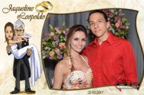 Evento Casamento – Foto Lembrança com moldura personalizada.