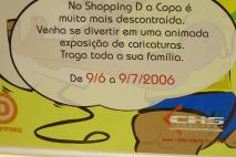 Exposição Show D Bola - Copa do Mundo de 2006 - Shopping D.